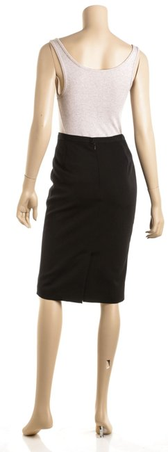 Dolce&Gabbana D&g Wool Skirt Black Image 3