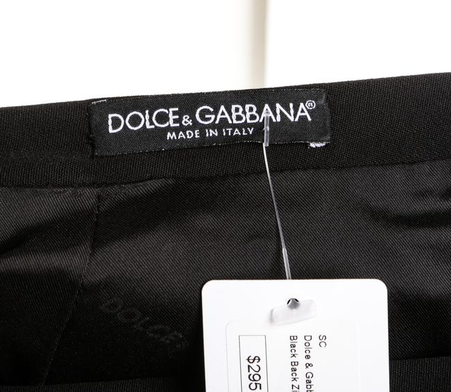 Dolce&Gabbana D&g Wool Skirt Black Image 5