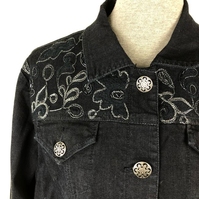 Chico's Womens Jean Jacket Image 1