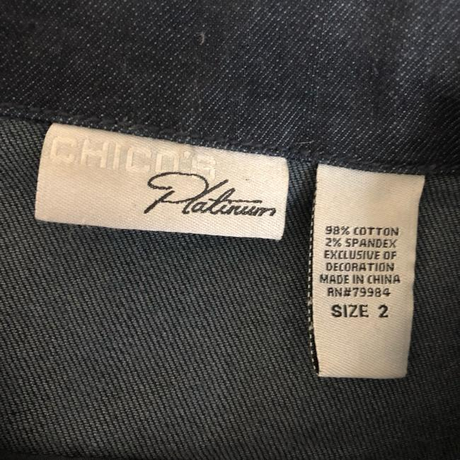 Chico's Womens Jean Jacket Image 3