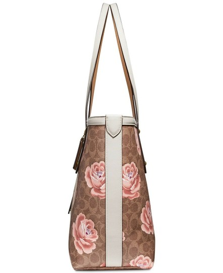 Coach Tote in Tan Chalk/Gold Image 2