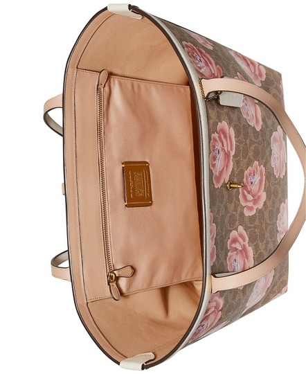 Coach Tote in Tan Chalk/Gold Image 3