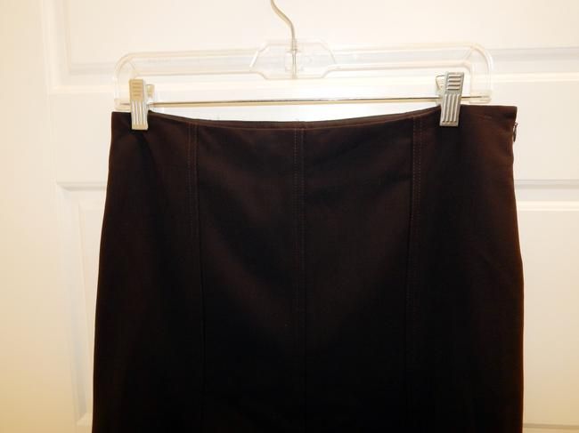 Theory Flared Skirt Brown Image 5