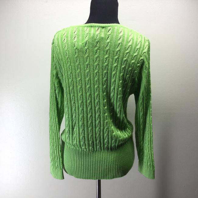Fia Italia Cable Knit Vintage Italy Hand Made Sweater Image 1