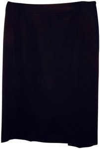 Theory Straight Skirt Black