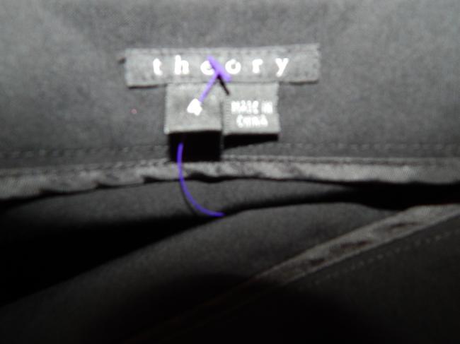 Theory Straight Skirt Black Image 11