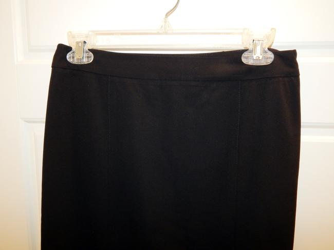 Theory Straight Skirt Black Image 3