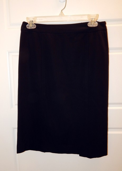 Theory Straight Skirt Black Image 7