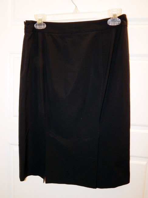 Theory Straight Skirt Black Image 8