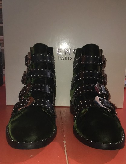Givenchy black and dark green Boots Image 1