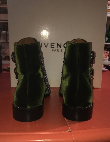 Givenchy black and dark green Boots Image 3