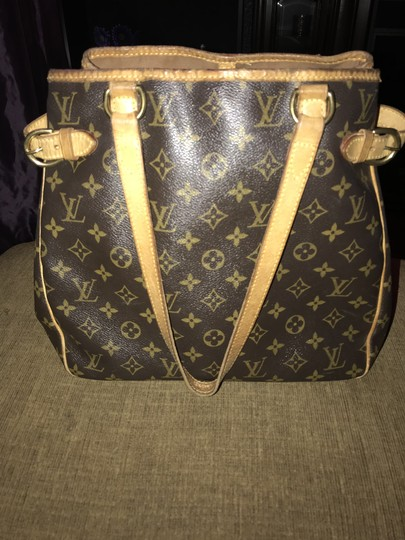 Louis Vuitton Leather Monogram Shoulder Bag Image 3