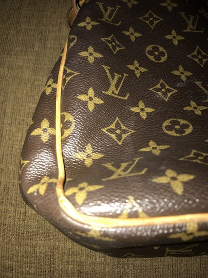 Louis Vuitton Leather Monogram Shoulder Bag Image 7