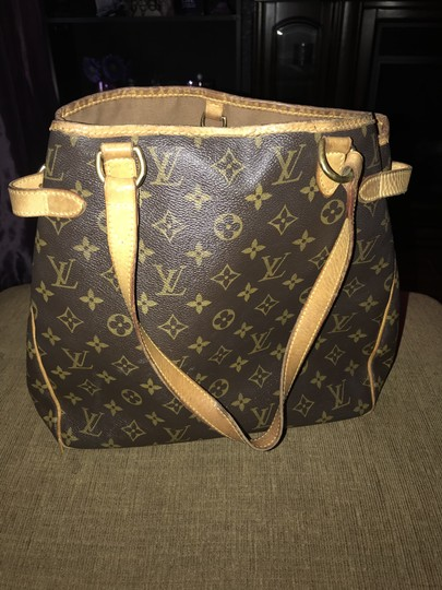 Louis Vuitton Leather Monogram Shoulder Bag Image 8