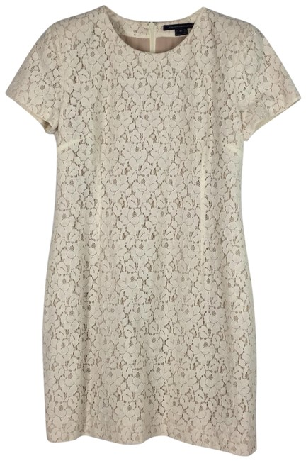 Preload https://img-static.tradesy.com/item/25412338/french-connection-cream-libby-lace-short-casual-dress-size-10-m-0-1-650-650.jpg