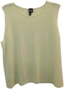 Eileen Fisher Shell Lime Top Green