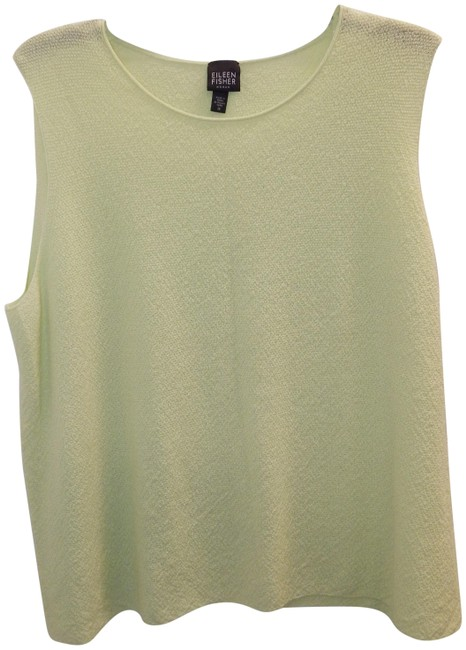 Preload https://img-static.tradesy.com/item/25412343/eileen-fisher-green-lime-knit-stretch-shell-usa-tank-topcami-size-20-plus-1x-0-1-650-650.jpg