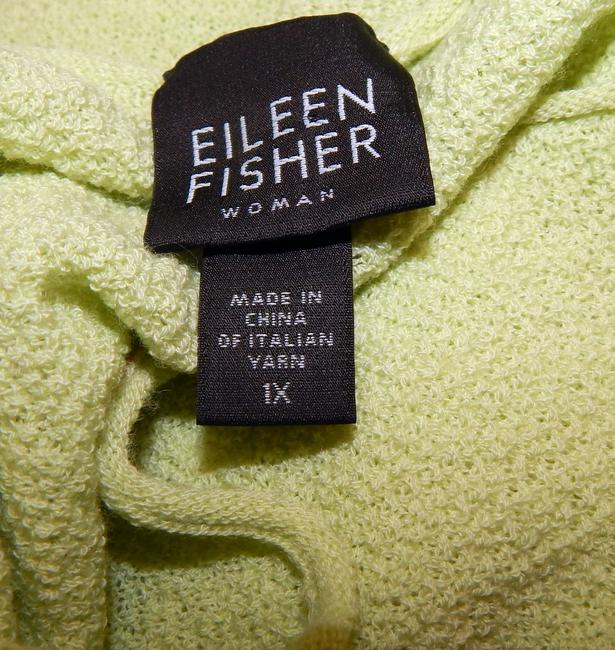Eileen Fisher Shell Lime Top Green Image 3
