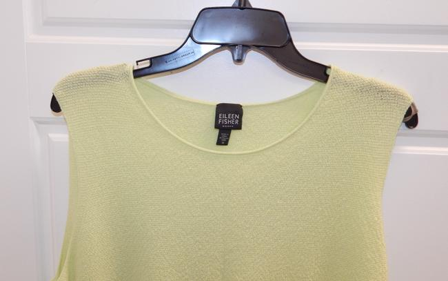 Eileen Fisher Shell Lime Top Green Image 5