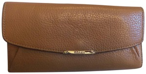 Coach Coach tan leather wallet