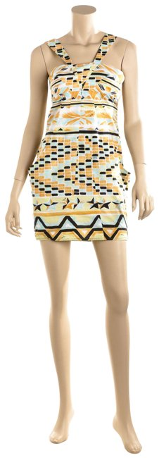 Preload https://img-static.tradesy.com/item/25412402/emilio-pucci-multicolor-489438-cotton-print-s-short-casual-dress-size-4-s-0-1-650-650.jpg