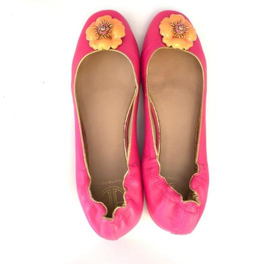 Lilly Pulitzer pink Flats Image 6