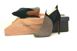 ALAÏA Very Soft Suede Box/Dust Bags Great Value Trusted Seller Gray Boots