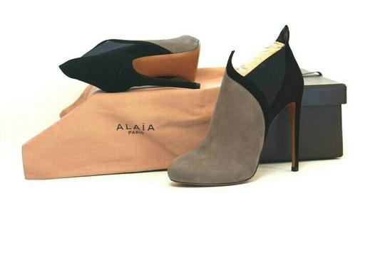 ALAA Very Soft Suede Box/Dust Bags Great Value Trusted Seller Gray Boots Image 3
