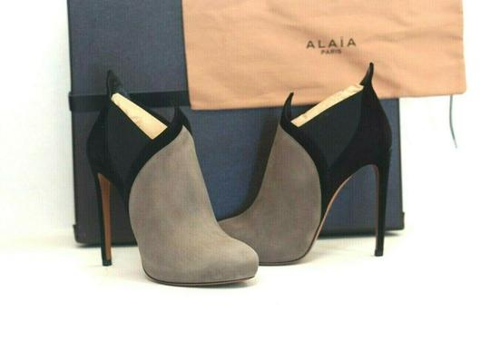 ALAA Very Soft Suede Box/Dust Bags Great Value Trusted Seller Gray Boots Image 7