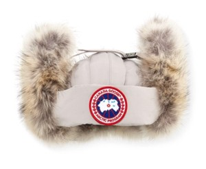 5eeda3f34d2 Canada Goose Aviator Hat with Genuine Coyote Fur Trim Large/X-Large