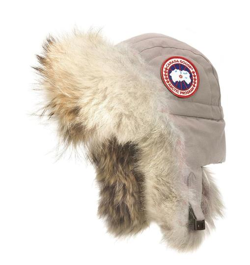 Canada Goose Aviator Hat with Genuine Coyote Fur Trim Large/X-Large Image 1