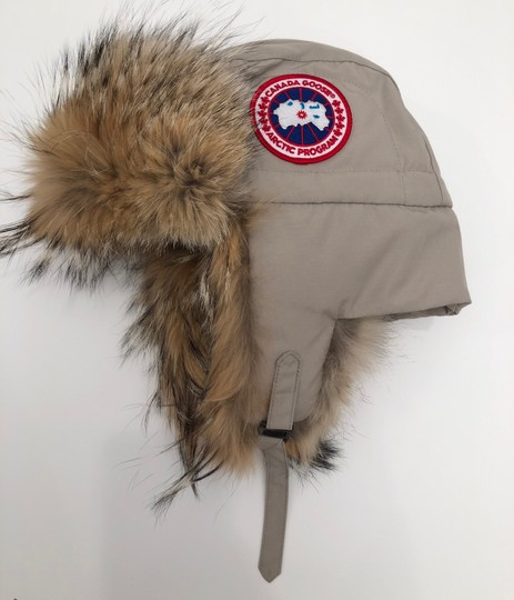 Canada Goose Aviator Hat with Genuine Coyote Fur Trim Large/X-Large Image 2