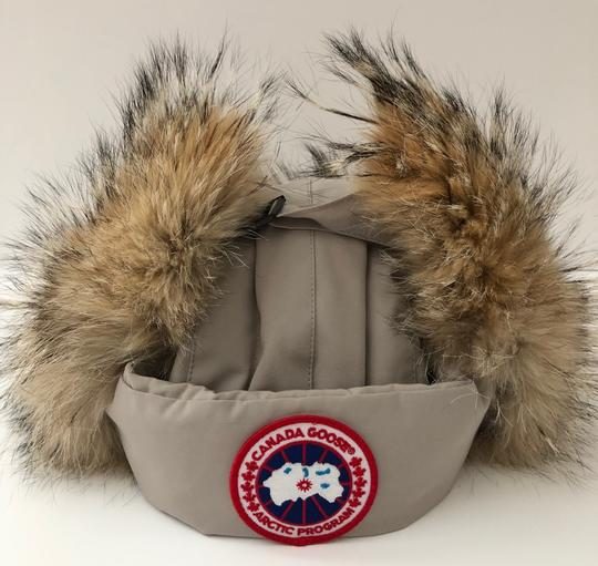 Canada Goose Aviator Hat with Genuine Coyote Fur Trim Large/X-Large Image 3