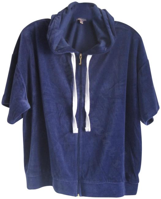 Item - Blue Circle Star Logo Twilight Batwing Track Jacket Style No. Owtkj147363 Activewear Outerwear Size 12 (L)