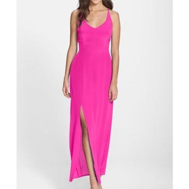 pink Maxi Dress by Charlie jade Image 1
