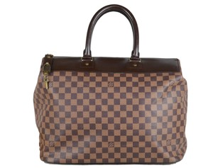 Louis Vuitton Toile Greenwich Pm Tote in Brown