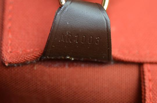 Louis Vuitton Toile Greenwich Pm Tote in Brown Image 1