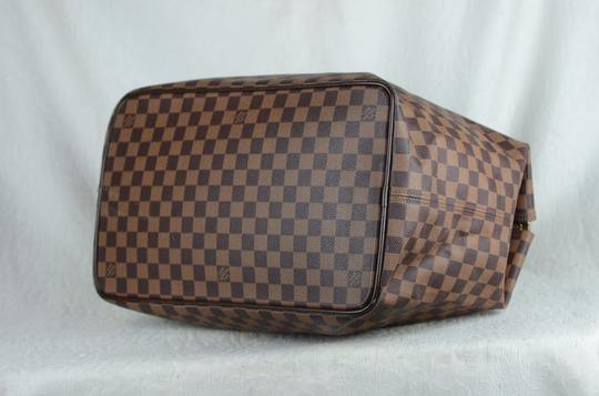 Louis Vuitton Toile Greenwich Pm Tote in Brown Image 10