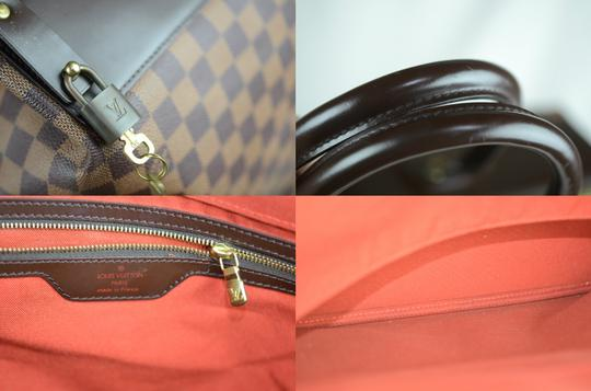 Louis Vuitton Toile Greenwich Pm Tote in Brown Image 11