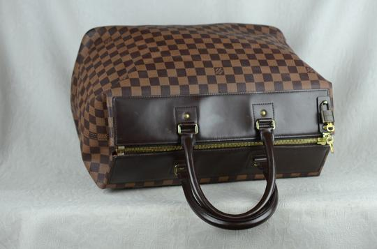 Louis Vuitton Toile Greenwich Pm Tote in Brown Image 3