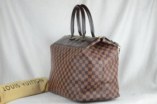 Louis Vuitton Toile Greenwich Pm Tote in Brown Image 4