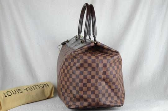 Louis Vuitton Toile Greenwich Pm Tote in Brown Image 9