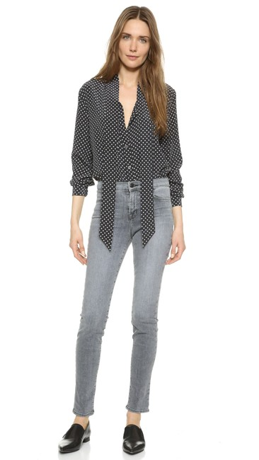 Equipment Tory Burch Rachel Comey Emerson Fry Rachel Zoe Tibi Button Down Shirt Black Image 7