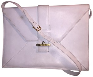 Céline white Clutch