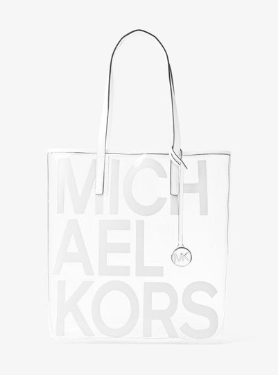 292203f4a8 ... Michael Kors Plastic/Thermo 31s8s01t3p Tote in Optic White Image 1