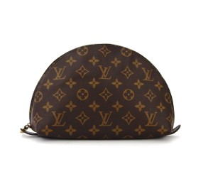 Louis Vuitton Ronde GM 26 Monogram Pochette Toilette Cosmetics Travel Dopp Bag