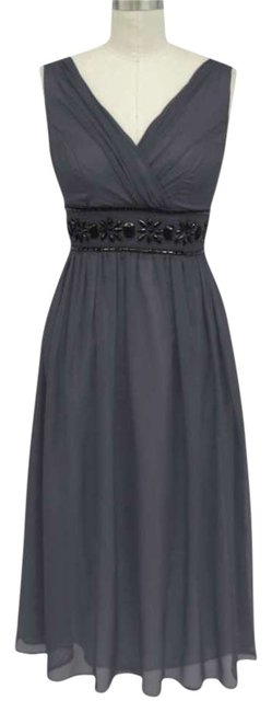Preload https://item1.tradesy.com/images/gray-beaded-waist-sizelarge-mid-length-formal-dress-size-12-l-254140-0-0.jpg?width=400&height=650