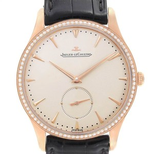 Jaeger-LeCoultre Jaeger Lecoultre Master Grande Ultra Thin Rose Gold Diamond Mens Watch