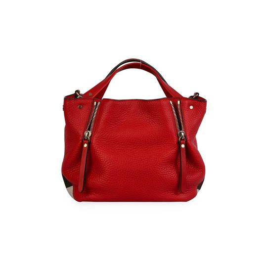 Burberry Leather Crossbody House Check Maidstone Shoulder Bag Image 1