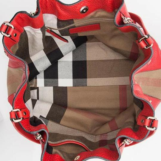 Burberry Leather Crossbody House Check Maidstone Shoulder Bag Image 3